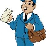 Постер, плакат: Postman