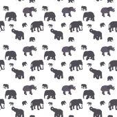 Seamless Pattern of Elephant. — Stock Vector