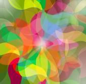 Arrière-plan coloré abstrait art psychédélique. vecteur illustratio — Vecteur