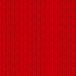Red Sweater Texture Background. Vector Illustration. — Stock Vector #55327383