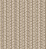 Brown Sweater Texture Background. Vector Illustration. — Vettoriale Stock