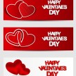 Valentine's Day Cards — Stock Vector #62626113