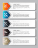 Infographic Design Elements for Your Business Vector Illustration — 图库矢量图片