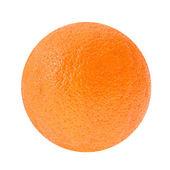 Frischen orangen isoliert auf weißem hintergrund — Stockfoto