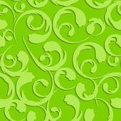 Floral Vintage Seamless Pattern Background Vector Illustration — Vetor de Stock
