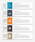 Infographic Design Elements for Your Business Vector Illustratio — Stock Vector