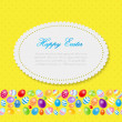 Beautiful Easter Egg Background Vector Illustration — Stock Vector #68293817