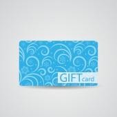 Abstract Beautiful Winter Christmas Gift Card Design, Vector Ill — Stock Vector