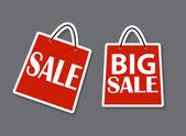 Försäljning banner med plats för din text. vektor illustration — Stockvektor