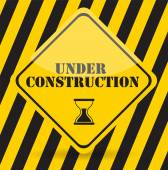 Under Construction. Vector Illustration Eps10 — Stock Vector