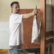Measuring proportions in painting — Stock Photo #61740159