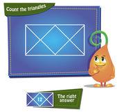 Triangle 4. — Stock Vector