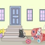 Toys and Kitten. — Stock Photo #66387271