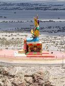 Buddha statue in Nubra valley — Stock Photo