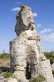Pobiti Kamani (Standing Stones, Stone Forest) Unique Natural Roc — 图库照片