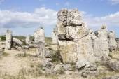 Pobiti Kamani (Standing Stones, Stone Forest) Unique Natural Roc — Stock Photo