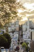 Lombard Street, San Francisco, California — Stock Photo