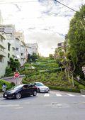 Lombard Street, San Francisco, California — Stock Photo