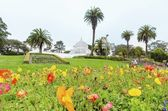 Conservatory of flowers, San Francisco — Stock Photo