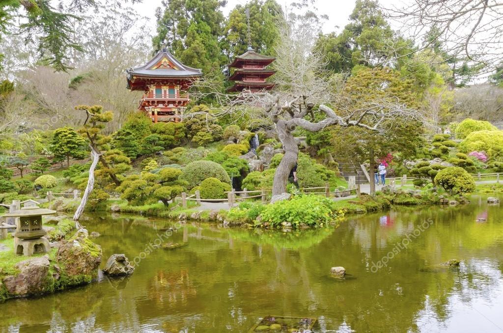 Giardino del t giapponese san francisco foto stock - Giardino del te ...