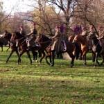 Polish cavalry. — Stock Photo #53657779