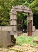 Tombs and Jewish tombs. — Stock Photo