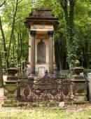 Yahudi mezarlarının. — Stok fotoğraf