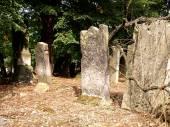 Jewish tombs. — Zdjęcie stockowe
