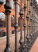 Manufactory fence. — Stock Photo