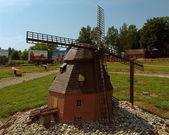 Moinho de vento Mazury. — Fotografia Stock