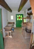 KOURIM - MAY 24: Interior of village house from the 18th century — Stock Photo