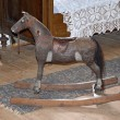 Rocking horse - old toy for children — Stock Photo #69386297