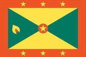 The flag of Grenada — Stock Vector