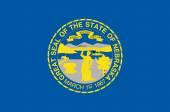 Flag of the American State of Nebraska — Stock Vector