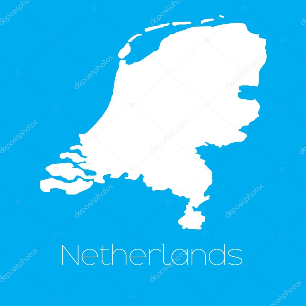 荷兰国家的地图