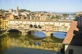 Ponte Vecchio - Florence, Italië — Stockfoto