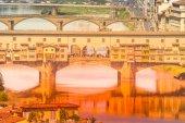 Ponte Vecchio - Florence, Italy — Stock Photo