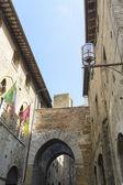 Сан-Джиминьяно, Италия — Стоковое фото