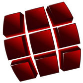 Logo shape — Stock Vector