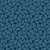 Blue petals seamless background  — Stockvector