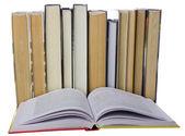 Muchos libros — Foto de Stock