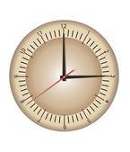 Часы со стрелками — Cтоковый вектор