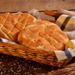 Foccacia Italian bread — Stock Photo #57538119