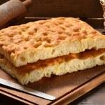 Foccacia Italian bread — Stock Photo #57538331