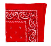 Red  bandanna — Stock Photo