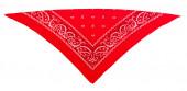 Classic red  bandanna (kerchief) — Stock Photo