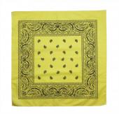 Yellow bandanna — Stock Photo