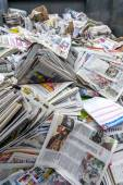 Newspaper for recycle — Stock Photo