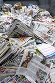Newspaper for recycle — Stock fotografie