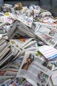 Newspaper for recycle — Zdjęcie stockowe